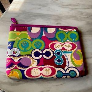Coach Poppy Tablet/IPad Padded zippered case